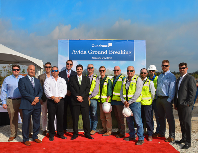 Groundbreaking Held for $95 Million Senior Living Facility, Avida