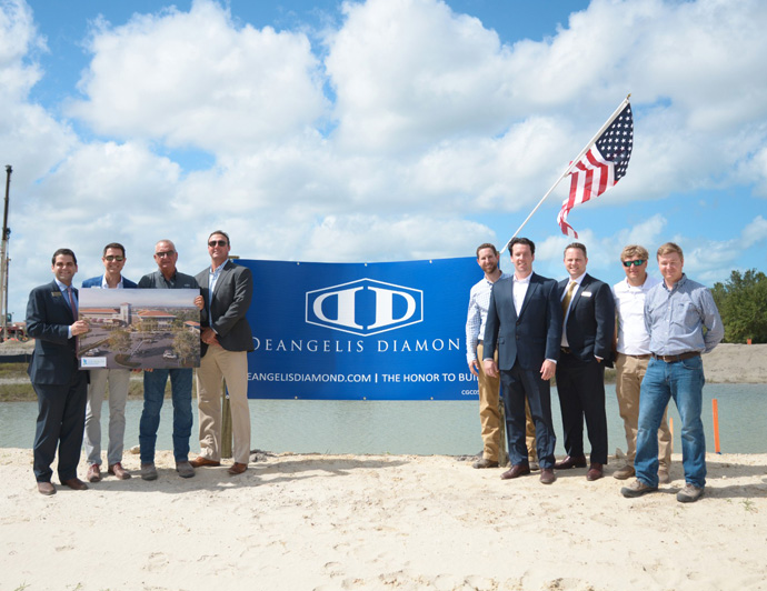 DeAngelis Diamond Breaks Ground for $140 million Healthcare Project: Lee Health Coconut Point