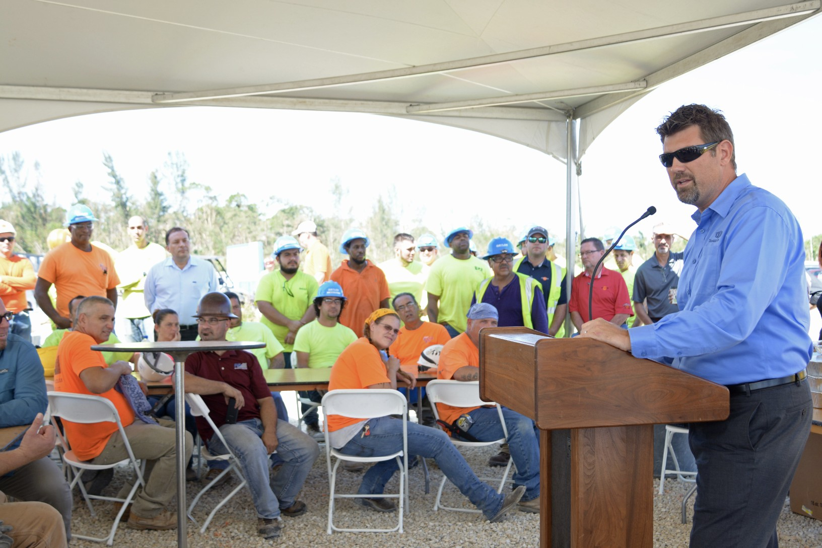 DeAngelis Diamond Holds Topping Out Ceremony at Amavida