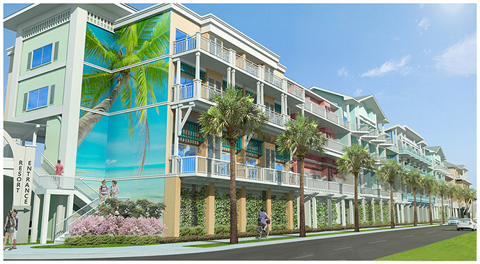 DeAngelis Diamond Awarded Margaritaville Resort on Fort Myers Beach