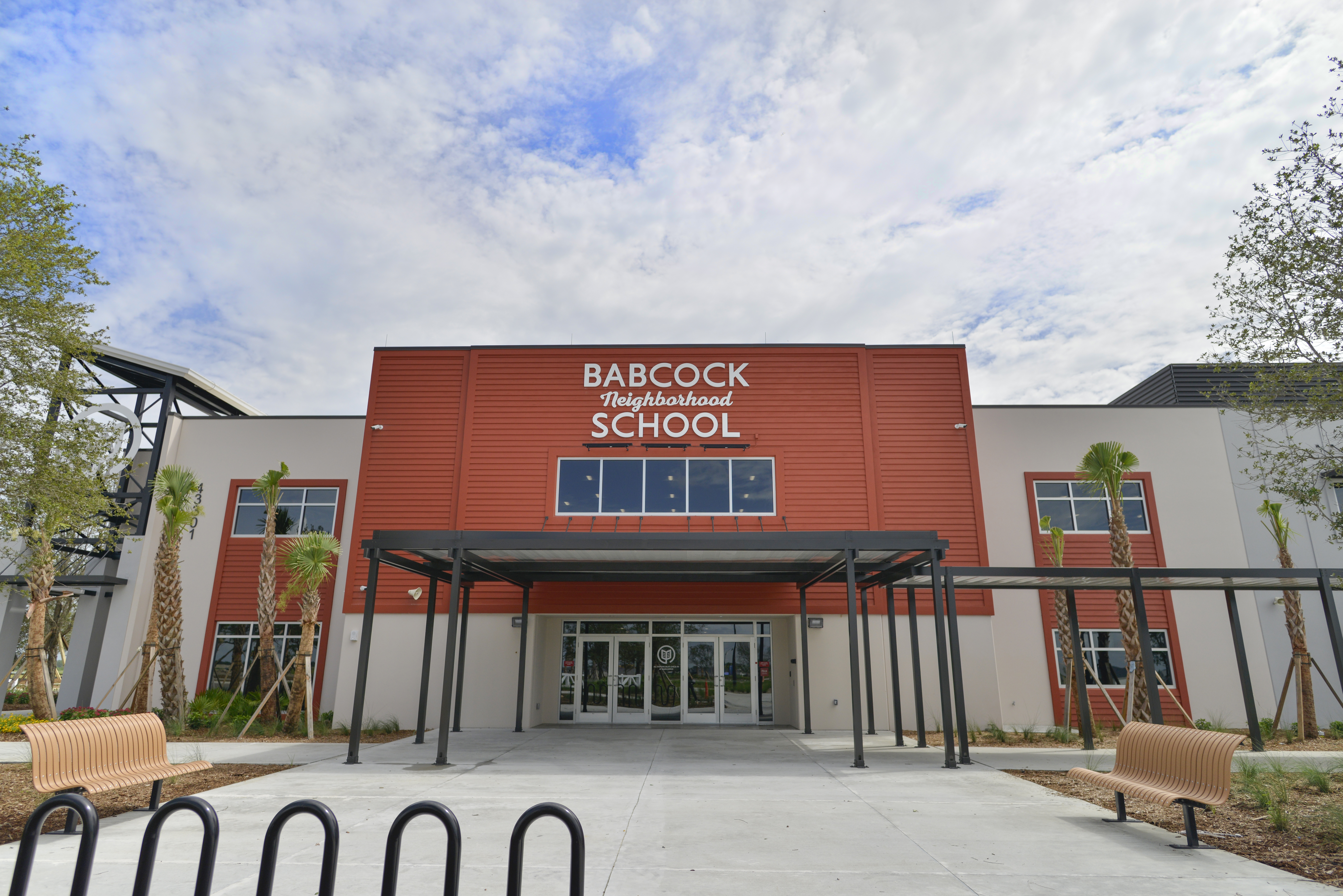 DeAngelis Diamond Finishes Babcock Neighborhood School